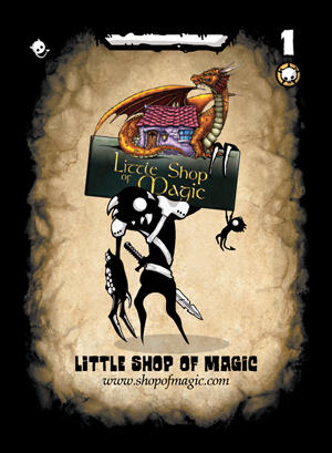Three Cheers for Master - Little Shop of Magic Mastercard