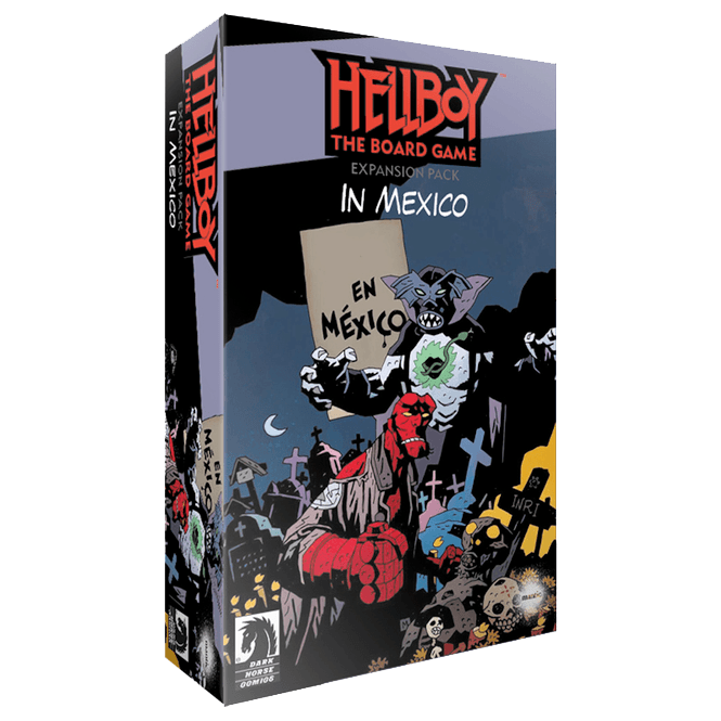 Hellboy: The Board Game - Kickstarter expansions