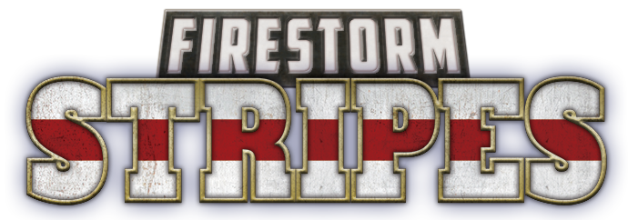 Firestorm Stripes Banner